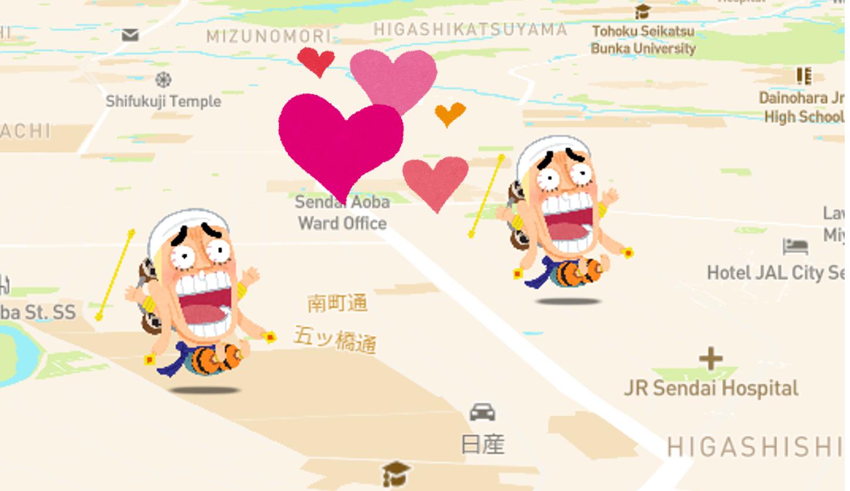 まじまじ町(マッチ)ング